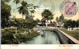 AFRIQUE --  SAO TOME Et PRINCIPE -- Rio Agua Grande - Sao Tome Et Principe
