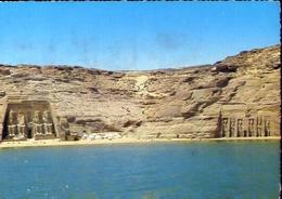Abu Simbel - The Two Rock Temples - Formato Grande Viaggiata Mancante Di Affrancatura – E 9 - Abu Simbel