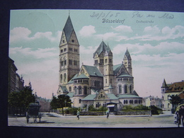 Duitsland  Dusseldorf Rochuskerk Paard En Wagen 1905 - Duesseldorf