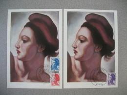 Carte-Maximum 1983   N°  2274 à 2276 - Maximum Cards