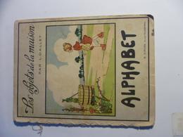 Livre Ancien ALPHABET - Les Objets De La Maison - Andere