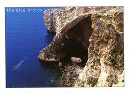 Malta. The Blue Grotto. Malte. La Grotte Bleue. - Malte
