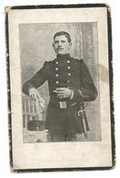Doodsprentje Soldaat 22e Linieregiment Sint-Lenaarts + Calais 1914 - Santini