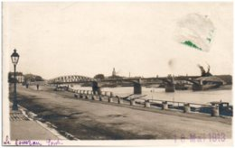 71 CHALON-sur-SAONE - Le Nouveau Pont - Carte-photo (Photographie A. Chandioux) - Chalon Sur Saone