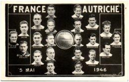 Football - Souivenir De France Autriche 5 Mai 1946 - Football