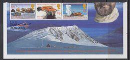 British Antarctic Territory 2000 Sir Vivian Fuchs 3v (stamps Are Folded !!!) ** Mnh (41584) - Ongebruikt