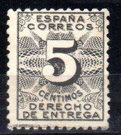 Sello  Nº 592  España - 1889-1931 Reino: Alfonso XIII