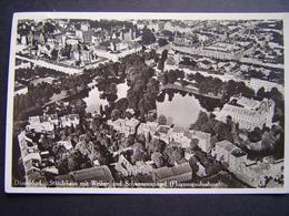 Duitsland Dusseldorf Luchtfoto 1931 Standehaus Schwanenspiegel - Duesseldorf