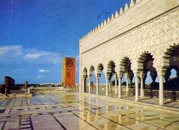 Rabat - Le Mausolee Mohammed V - Formato Grande Viaggiata Mancante Di Affrancatura – E 9 - Cartoline