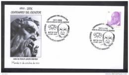 1.- ESPAÑA 2011. CENTENARIO DEL ESCULTOR, JUAN AVALOS GARCIA TABOADA. MERIDA CACERES EXTREMADURA - 1931-Hoy: 2ª República - ... Juan Carlos I