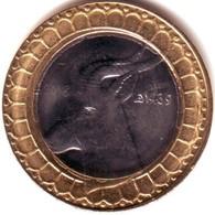 Algérie - Lion- Pièce Bimétallique UNC (issue De Rouleaux) 50.00 DA (Gazelle) 2018-1439. - Algérie