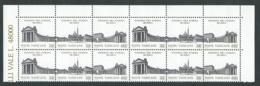 1991 VATICANO SINODO DEI VESCOVI QUARTINA MNH ** - Unused Stamps