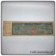 5000 Lire Titolo Provvisorio Medusa - [ 2] 1946-… : République