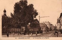 [94] Val De Marne > Maisons Alfort La Grande Rue Et La Mairie - Maisons Alfort