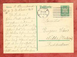 P 162 I Adler, Berlin Nach Nidda 1926 (68239) - Deutschland