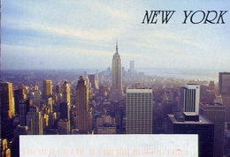 New York - Manhattan Skyline - Formato Grande Viaggiata – E 9 - Etats-Unis