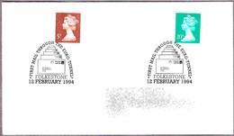 PRIMER CORREO A Traves Del EURO-TUNEL - First Mail Through The Euro-tunnel. Folkestone 1994 - Correo Postal