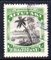 W983 - AITUTAKI 1920 , Yvert N. 23  Usato - Aitutaki