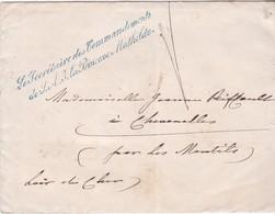 LSC - MAISON De La PRINCESSE MATHILDE  24 SEPT. 69 - 1849-1876: Classic Period