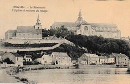 Floreffe Le Séminaire, L'Eglise Et Maisons Du Rivage La Sambre - Floreffe