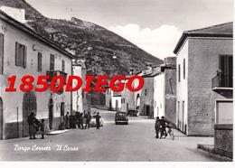 BORGO CERRETO - IL CENTRO  F/GRANDE VIAGGIATA 1959 ANIMAZIONE - Perugia