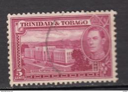 Trinidad Et Tobago, Bureau De Poste Central, Post Office, Cacao, Cocoa, George VI - Posta