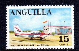 W996 - ANGUILLA 1967 , Ordinaria Yvert N. 8   ***   MNH - Anguilla (1968-...)