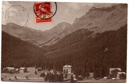 Tarjeta Postal  Circulada De Morgins 1918 - Suiza