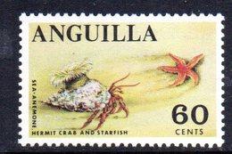W1015 - ANGUILLA 1967 , Ordinaria Yvert N. 12   ***   MNH - Anguilla (1968-...)