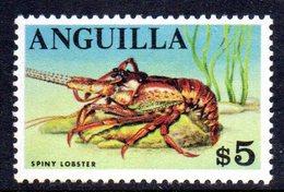 W1249 - ANGUILLA 1967 , Ordinaria 5 Dollari Yvert N. 15   ***   MNH - Anguilla (1968-...)