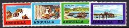 W1457 - ANGUILLA 1968 , Serie Yvert N. 33/36   ***   MNH - Anguilla (1968-...)