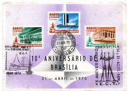 Tarjeta De Brasil De 1970 - Brasil