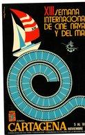 Tarjeta Semana Internacional De Cine Naval Con Matasello Commemorativo1984 - 1931-Hoy: 2ª República - ... Juan Carlos I