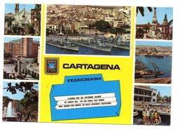 Tarjeta De Cartagena Con Matasellos En Rodillo De Cartagena 1985 - 1931-Hoy: 2ª República - ... Juan Carlos I