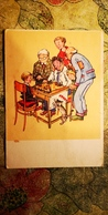 "CHMELYOV ""Tournament"" Art PC - 1959 - OLD SOVIET POSTCARD (USSR) - Chess - Échecs - Echecs"
