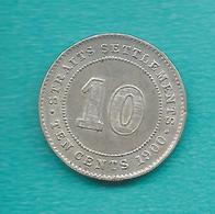 Straits Settlements - Victoria - 10 Cents - 1900 - KM11 - Colonies