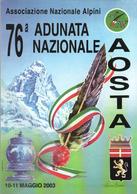 76ª Adunata Alpini Aosta 10-05-2003 ANA - Manovre