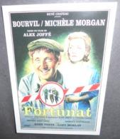 Carte Postale - Fortunat (film - Cinéma - Affiche) Bourvil / Michèle Morgan (illustration : Jean Mascii) - Affiches Sur Carte