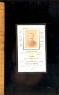 Faire Part Décès Portrait Jean Symphorien Paul Marie Comte De MUSY 1890 ( Couches Les Mines ) - Décès
