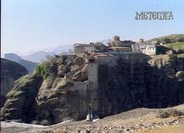 Meteore - Monastero Di Grando Meteoron - 5 - Formato Grande Non Viaggiata – E 9 - Cartoline