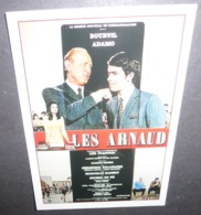 Carte Postale - Les Arnaud (film - Cinéma - Affiche) Bourvil / Adamo (illustration : Charles Rau) - Plakate Auf Karten