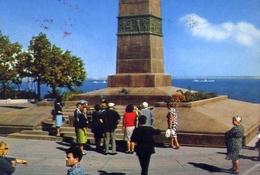 Odessa - Il Monumento - Formato Grande Viaggiata Mancante Di Affrancatura – E 9 - Cartoline