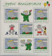 FRANCE 2006 BLOCK NEUF MNH ** 1OO J ANNIVERSAIRE ORIGINE POSTALE INTACTE LUXE - Souvenir Blocks & Sheetlets