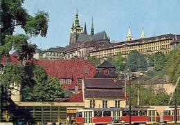 Praha - The Castle Of Prague Hradcany - Formato Grande Viaggiata – E 9 - Cartoline