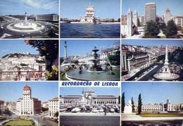 Recordacao De Lisboa - Formato Grande Non Viaggiata – E 9 - Cartoline