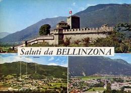Saluti Da Bellinzona - Formato Grande Viaggiata Mancante Di Affrancatura – E 9 - Cartoline