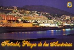 Tenerife - Costa De Adeje - Playa De Las Americas Playa De Fanabe - Formato Grande Viaggiata – E 9 - Cartoline