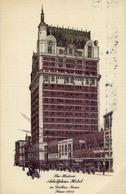 The Historio Adolphus Hotel In Dallas Texas Since 1912 - Formato Grande Viaggiata Mancante Di Affrancatura – E 9 - Cartoline