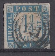 Schleswig-Holstein Minr.7 Gestempelt Nr.-St.121 Kiel - Schleswig-Holstein