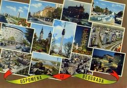 Uspomena Iz Beograda - 945 - Formato Grande Viaggiata Mancante Di Affrancatura – E 9 - Cartoline